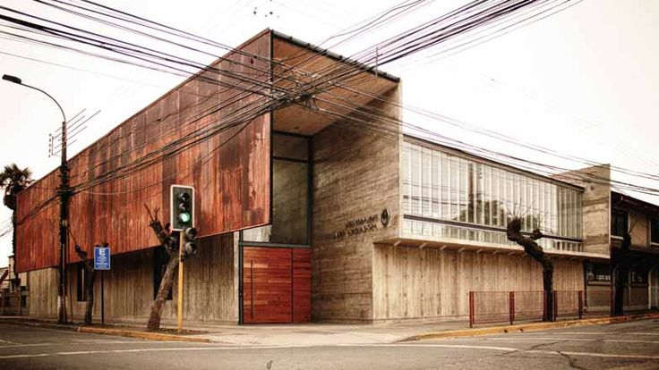 Administration Curricular Building Liceo María Auxiliadora de Linares by Surco Studio  Dezeen  http://www.dezeen.com/2012/06/25/administration-curricular-building-liceo-maria-auxiliadora-de-linares-by-surco-studio/#