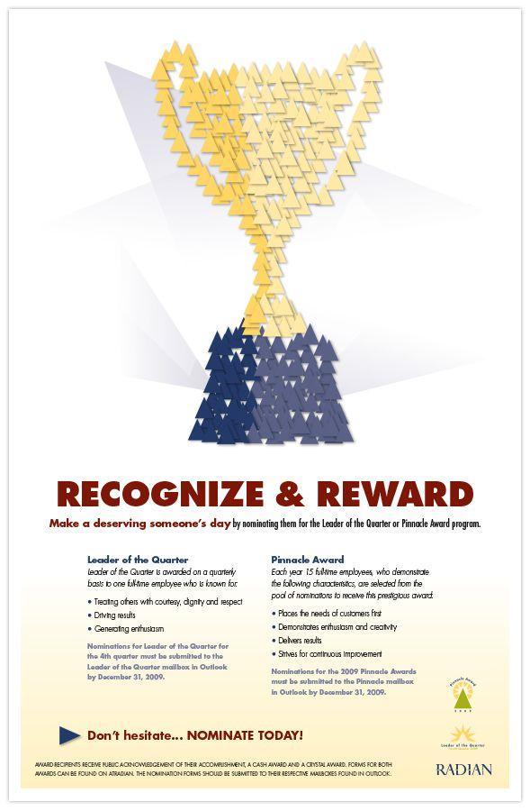 Radian Pinnacle Award Posters on Behance