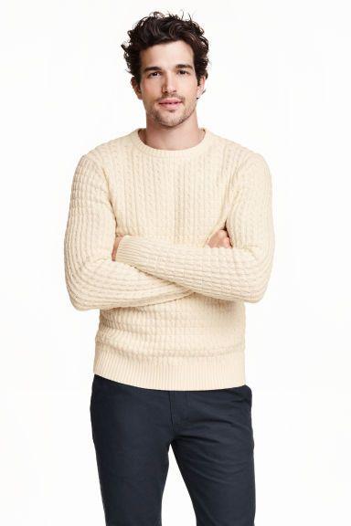 Pulover din bumbac texturat | H&M