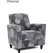 Enzo Accent Chair Sunflower (Enzo Accent Chair Charcoal Sunflower ...