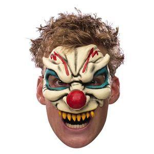 Chinless Evil Clown Adult Mask - 034864 - Halloween Mask | trendyhalloween.com