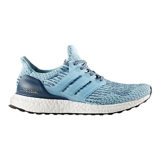 adidas Women\u0027s Ultra Boost Running Shoes - Ice Blue/Night Blue