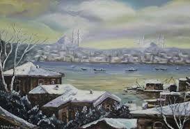 Image result for yağlıboya manzara tabloları