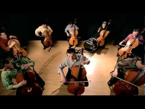 """The Cello Song - Bach is back (with 7 more cellos)"""