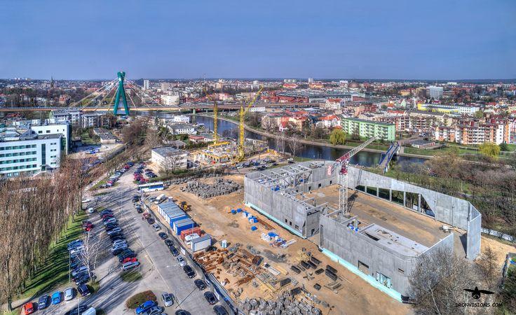 Budowa lodowiska w Bydgoszczy