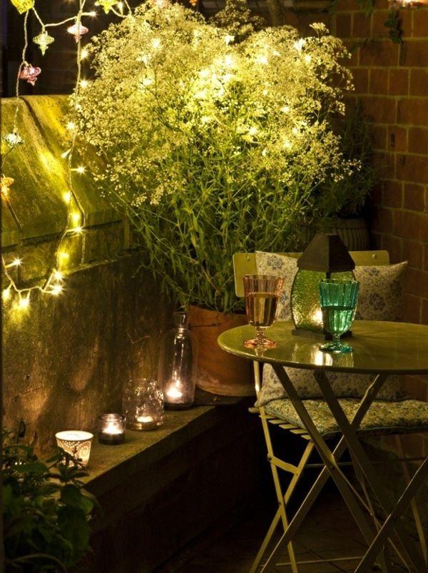 17 Bästa Bilder Om Balkon Beleuchtung På Pinterest | Deko ... Wohntipps Balkon Gestaltung Deko