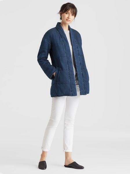 be1c173e924 Tencel Organic Cotton Quilted Jacket