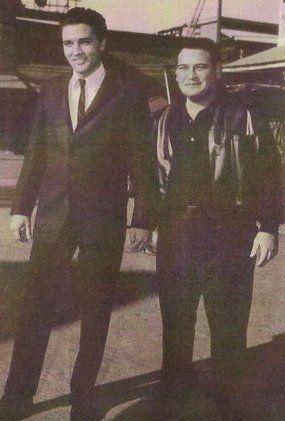 "Nicknames of Elvis Presley's ""Memphis Mafia"".  Hog Ears was Alan Fortas rss"