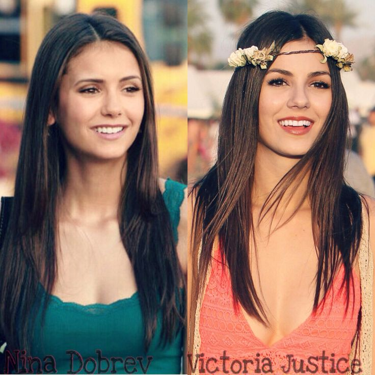 They actually look a bit like each other, haha! Nina ...