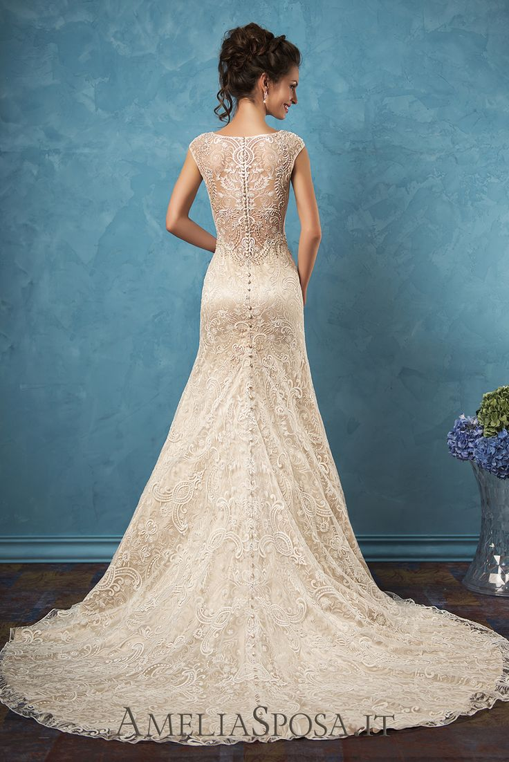 Gorgeous wedding dress Adele from Amelia Sposa.
