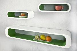 Retro wandplank - lounge cube | Lounge wand- Kubus | Design meubels, Retro verlichting & cadeaushop, Space Age new vintage