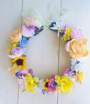 ビーチに合いそう♡造花で作る花かんむりの作り方やアイデアを集めました♪