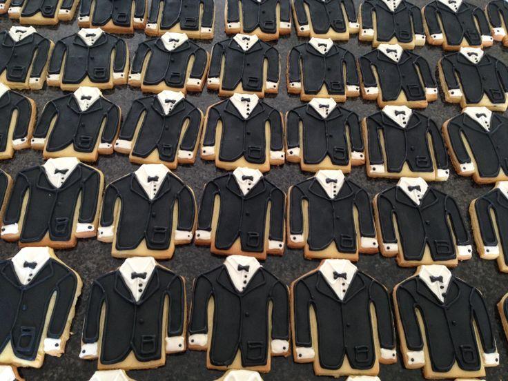 Tuxedo Wedding Cookies