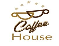 Coffee House Logo Design www.conflutech.com