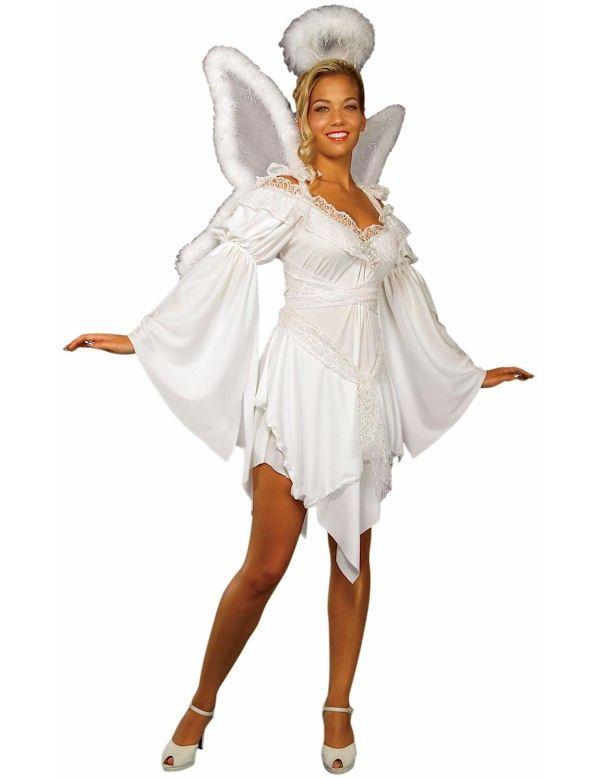 Hemelse Engel Maatje Meer Vrouw Kostuum