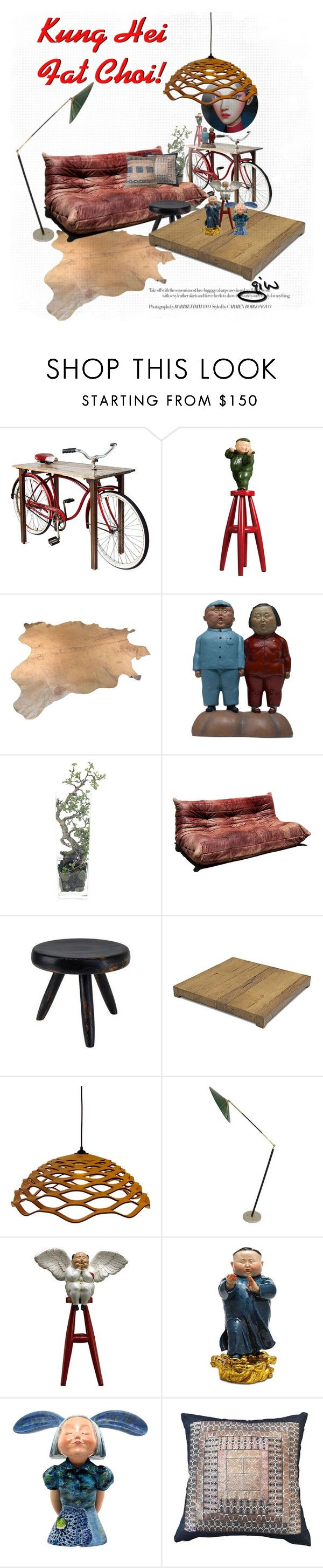 """""""Kung Hei Fat Choi!!!"""" by ian-giw ❤ liked on Polyvore featuring interior, interiors, interior design, home, home decor, interior decorating, X+Q, NDI, American Fyre Designs and modern"""
