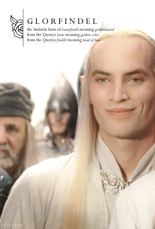 tolkieny:  the meaning of glorfindel