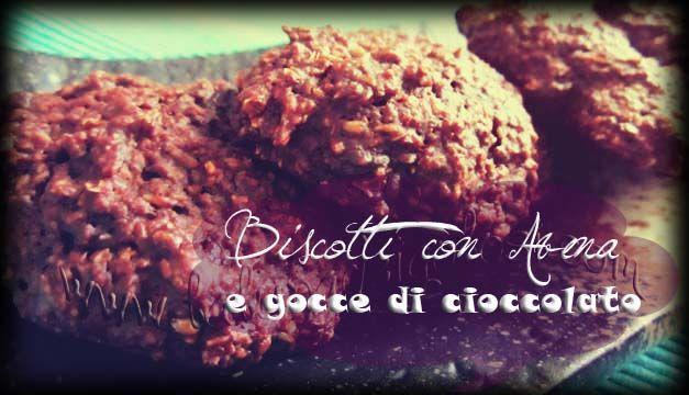 Biscotti allo Yogurt con Avena e Gocce di Cioccolato