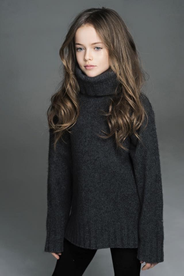little model Kristina Pimenova