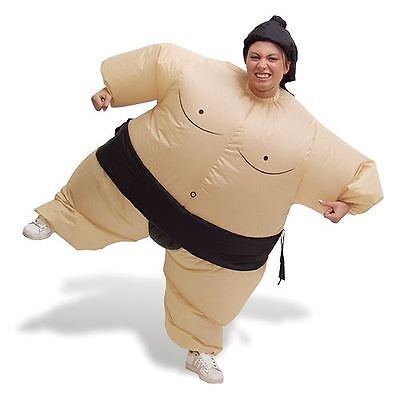 #Inflatable sumo wrestler costume blow up fat suit fancy #dress outfit #party adu, View more on the LINK: http://www.zeppy.io/product/gb/2/311525223987/