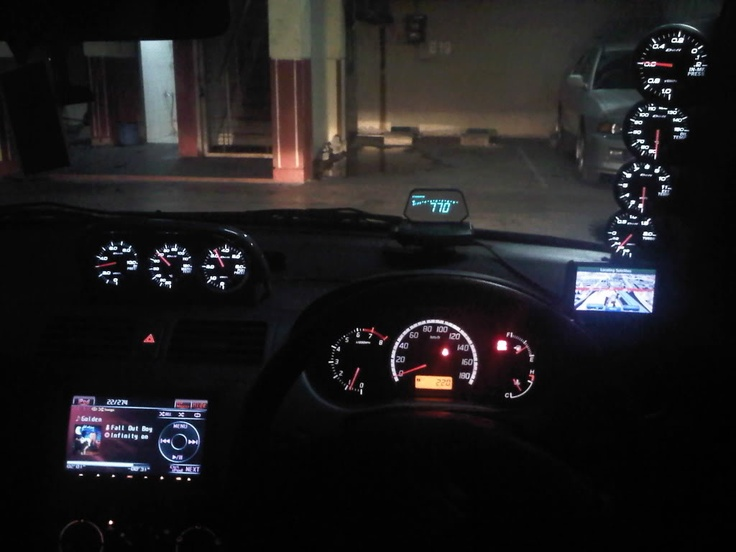Suzuki Swift -=ZC 21 S Project=- interior
