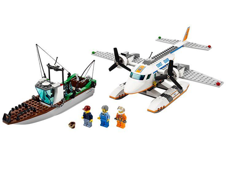 Lego Coast Guard Plane.