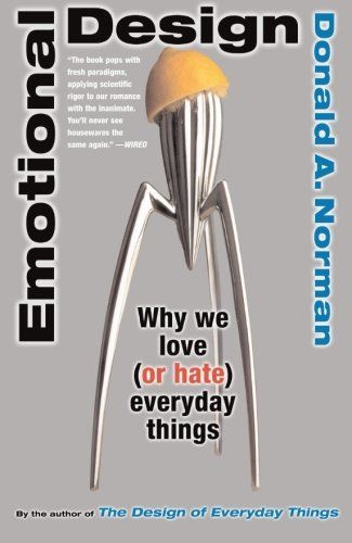 http://www.amazon.com/Emotional-Design-Love-Everyday-Things/dp/0465051367/ref=tmm_pap_title_0