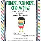 "Here are 9 handouts to reinforce the common core standard of ""Fables, Folktales, and Myths"" for third and fourth grade. These resources can be used..."