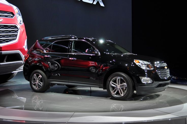Chicago Auto Show 2015 Chevy Equinox Car design 2016. Get your wallet ready. Check your car insurance.