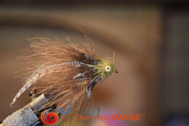 My Favorite Marabou Brown Trout Streamer.  #Troutbum #getwild #Flyfishing