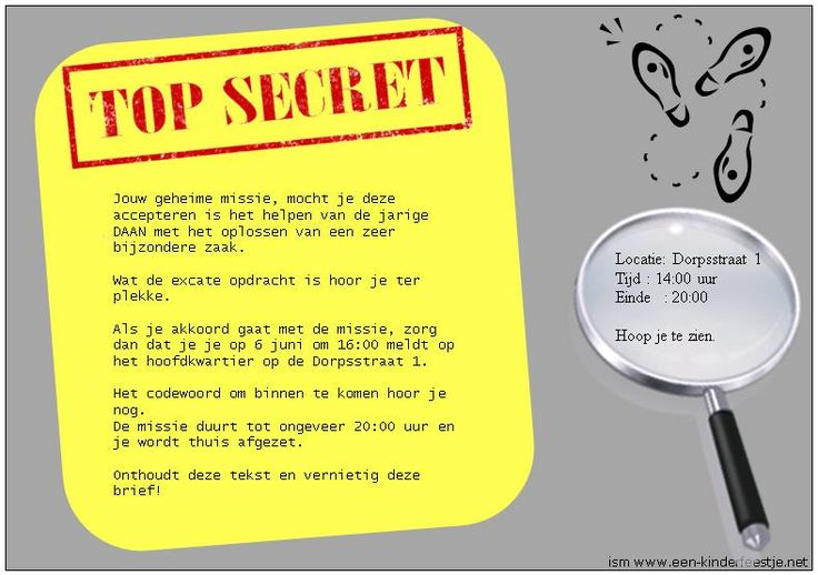 Top Secret Escape Room