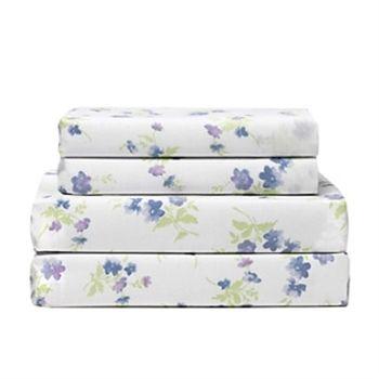 lilac flower twin xl sheet set - Twin Xl Sheets