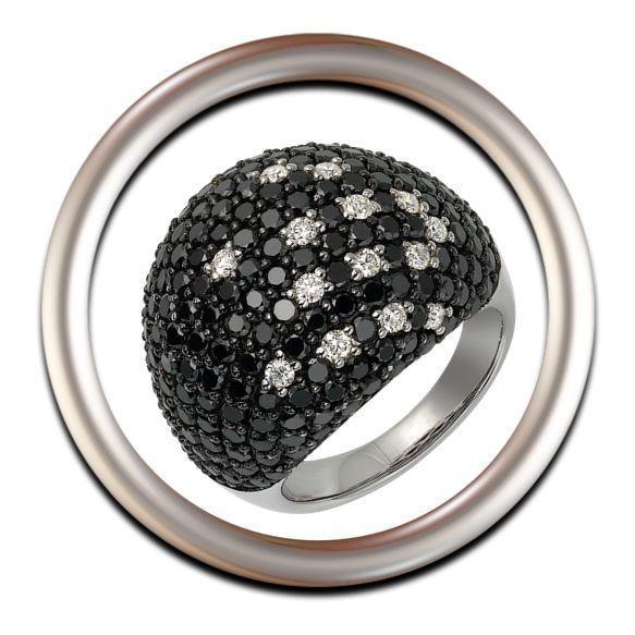Las joyas de diamantes negros, para mujeres poco tradicionales y para lucir con originalidad.