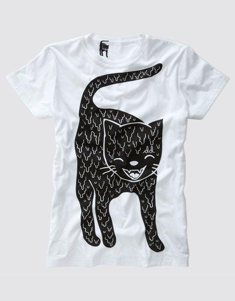 CAT T shirt .Drop Dead Clothing Product