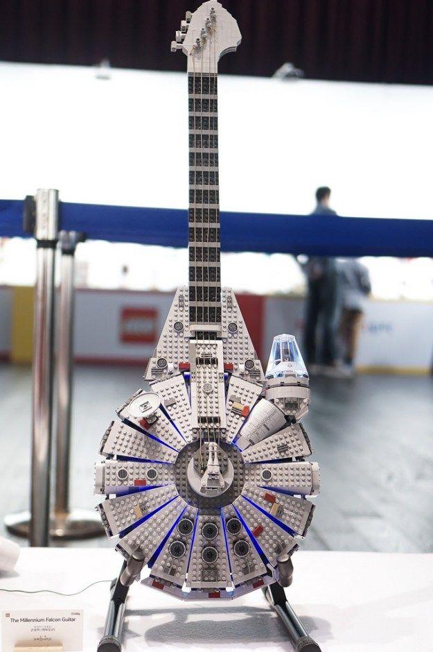 The Millennium Falcon Guitar                                                                                                                                                                                 More