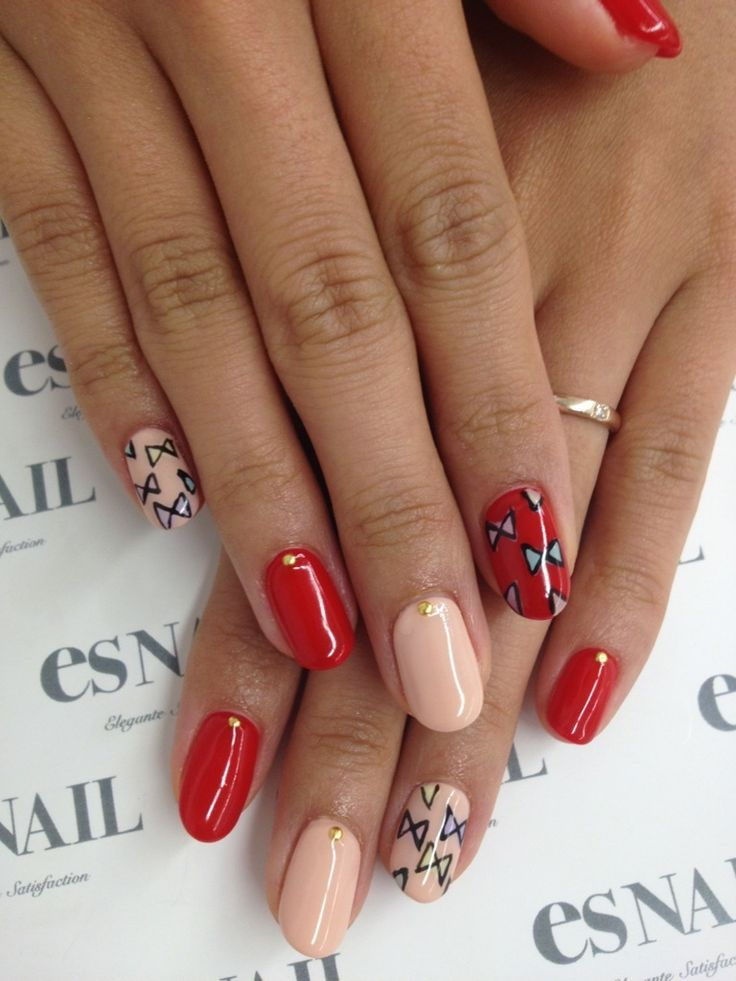 AmebaGG | See more at http://www.nailsss.com/colorful-nail-designs/2/