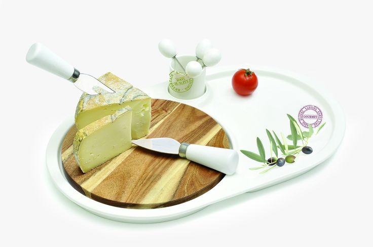Zestaw do serów || #set for #cheese ; #party #decosalon #giftidea #cheeselovers #nuova
