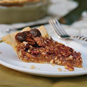 Caramel-Pecan Pie, you will never want any other kind of Pecan Pie once you've had this one, seriously.