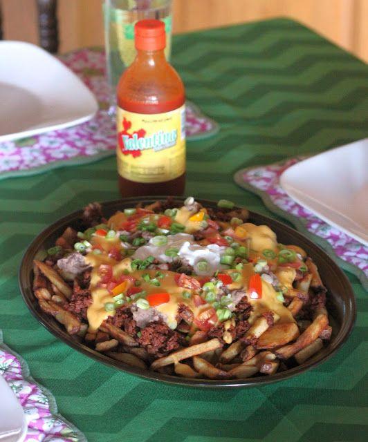 Kitchen Grrrls.: Vegan Fries Supreme - Taco Bell Veganized