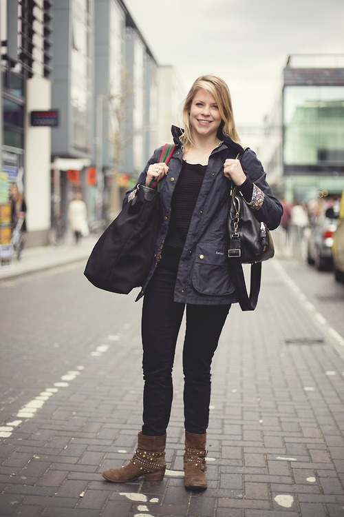 10 Images About Barbour Street Style On Pinterest This