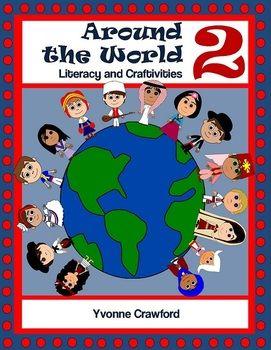 Around the World Literacy and Craftivities 2 $