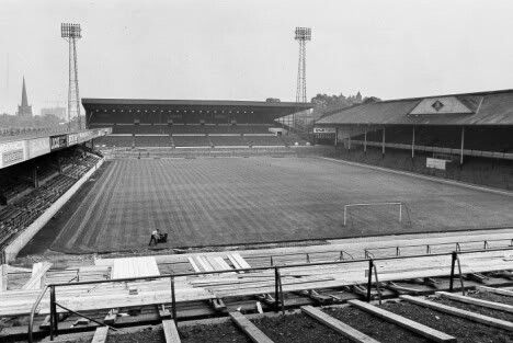 Villa Park, Aston Villa in the 1980s.