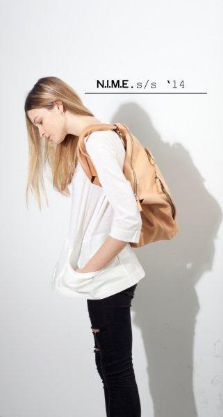 benti veg tanned backpack
