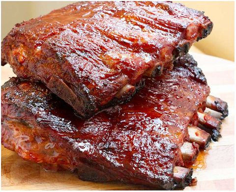 Caribbean Pineapple Glazed Beef Ribs by Wozz! Kitchen Creations