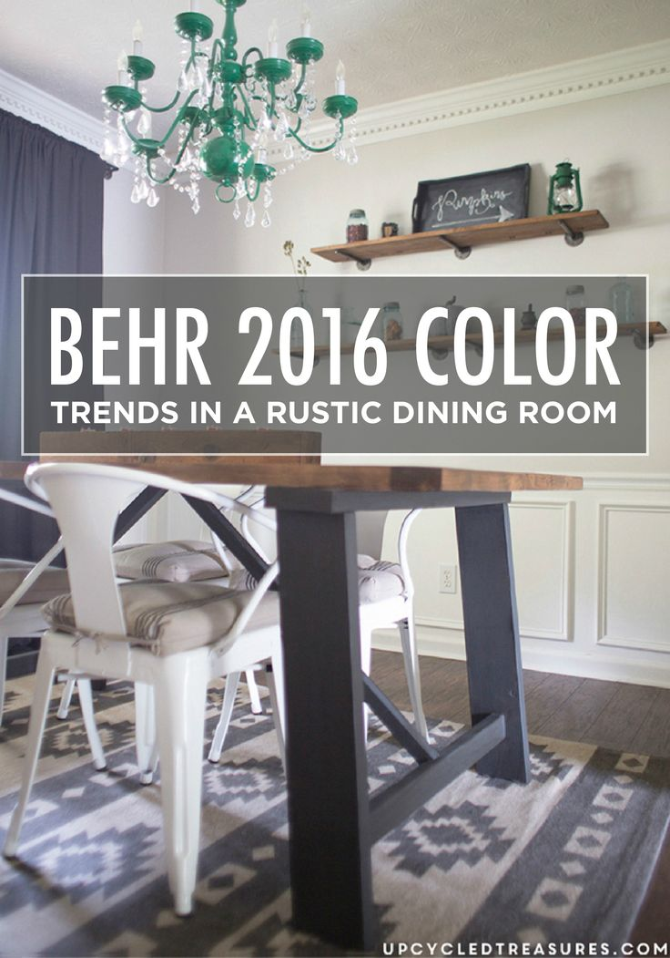 2016 Color Trends Behr ColorsPaint