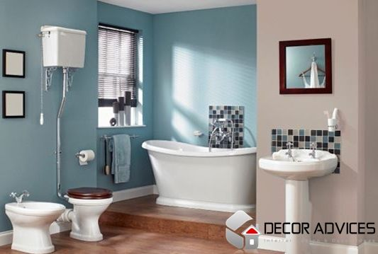 wall color ideas for bathroom  Choose The Right Paint For Wall Decorations