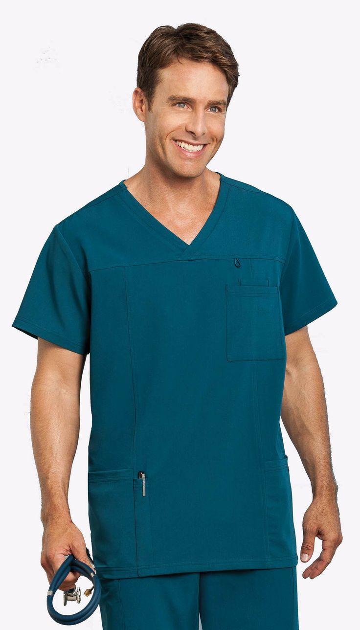 JOCKEY™ Scrubs Men's 7 Pocket Top