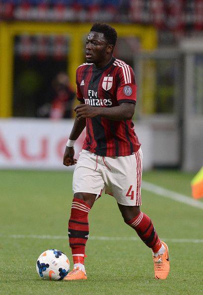Sulley Muntari of AC Milan