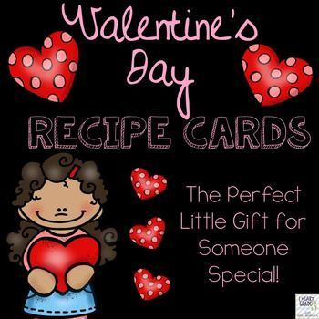This product is the perfect little gift that you and your students can give to someone you love!  All recipe cards are differentiated and all blackline masters are included.You can choose to use the print outs for the gifts, but if you would like to go the extra mile, you can purchase mini chocolates, confetti, gift bags, and other decorations to really add pizzaz to the gift.