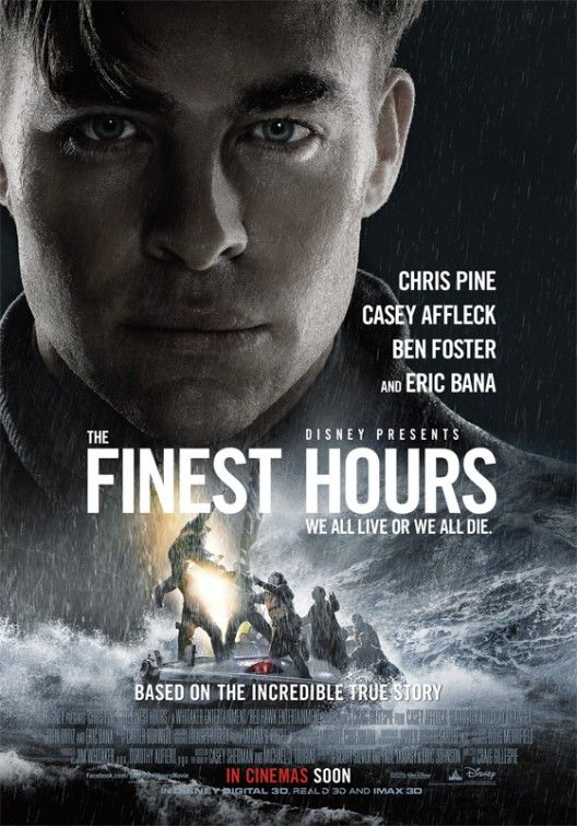 The Finest Hours. 2016. D: Craig Gillespie To hear the show, tune in to http://thenextreel.com/filmboard/the-finest-hours or check out our Pinterest board: http://www.pinterest.com/thenextreel/the-next-reel-the-podcast/ https://www.facebook.com/TheNextReel https://twitter.com/TheNextReel http://www.pinterest.com/thenextreel/ http://instagram.com/thenextreel https://plus.google.com/+ThenextreelPodcast http://letterboxd.com/thenextreel http://www.flickchart.com/thenextreel